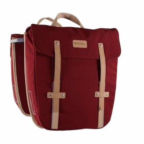 PANNIER BASIL Portland Double bag Dark Red