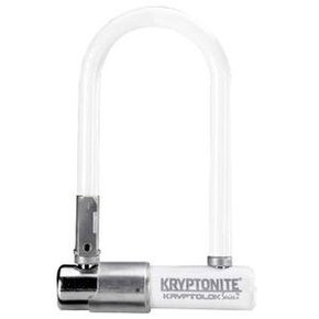 Kryptonite LOCK U-LOCK Kryptonite Kryptolok Mini-7 (DD) 83x178mm, 3.25''x7'' 13mm White