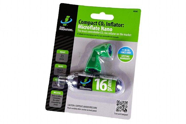 CO2 INFLATOR Genuine Innovations Microflate Nano Black