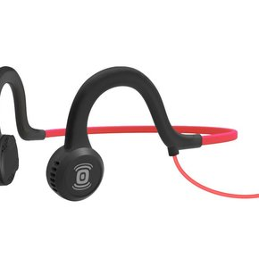 HEADPHONES AFTERSHOKZ Wired Sports Titanium w/ Mic Lava Red