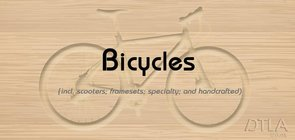 Bicycle Selection