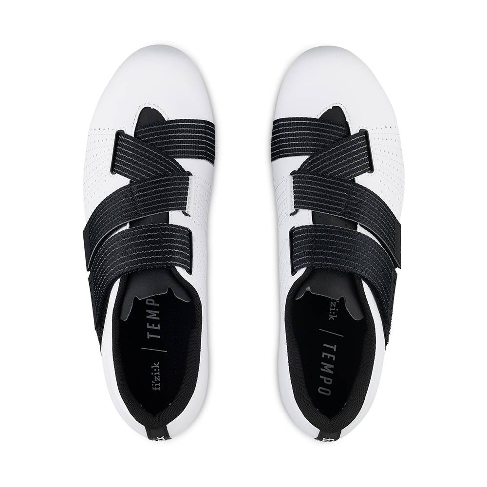 Fizik SHOES FIZIK Tempo R5 Powerstrap White / Black - 43