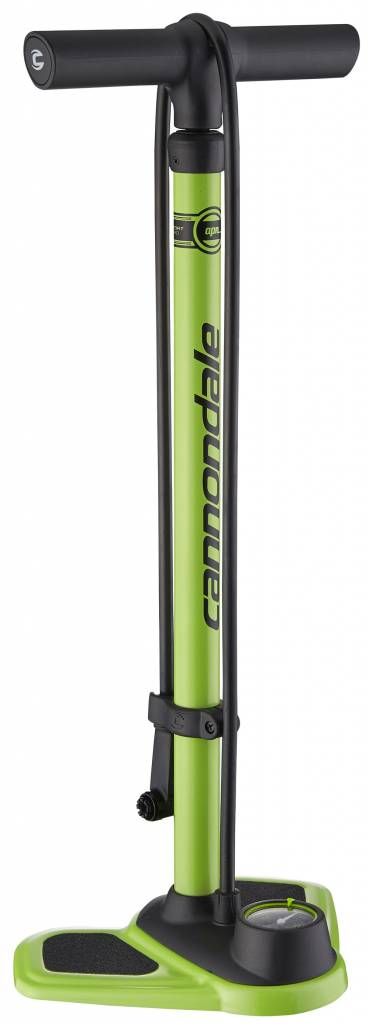 FLOOR PUMP Cannondale Airport Nitro Green