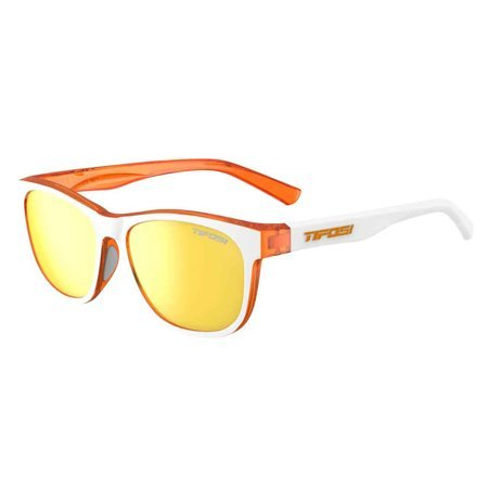 Swank, Icicle Orange Single Lens Sunglasses
