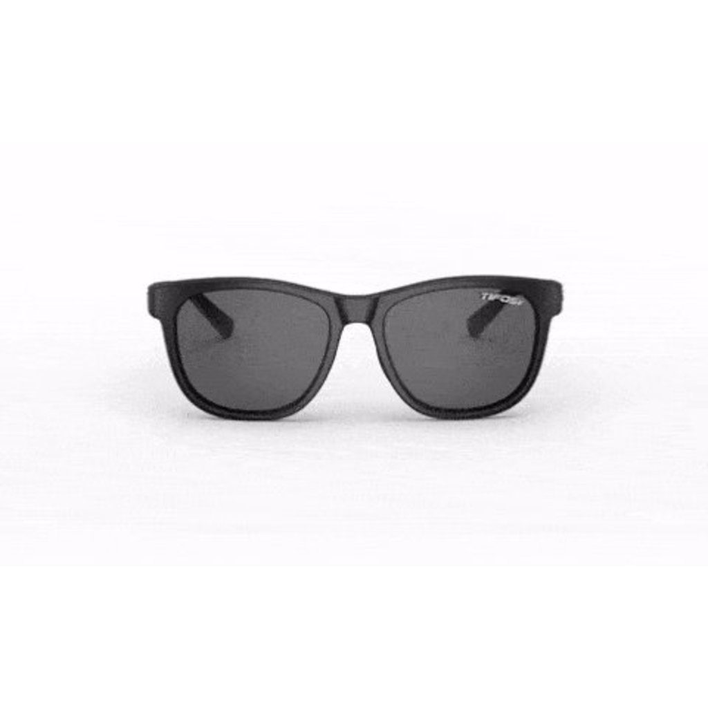EYEWEAR SUNGLASSES TIFOSI Swank Satin Black Single Lens