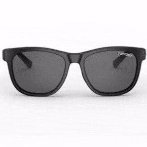 Swank, Satin Black Single Lens Sunglasses