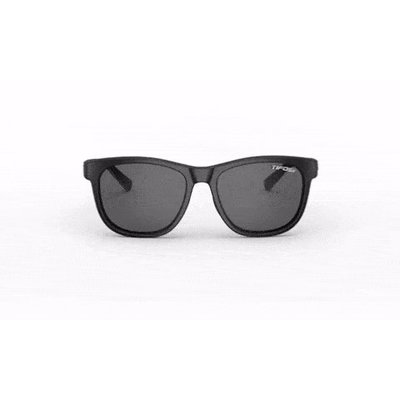 EYEWEAR SUNGLASSES TIFOSI Swank Satin Black Single Lens