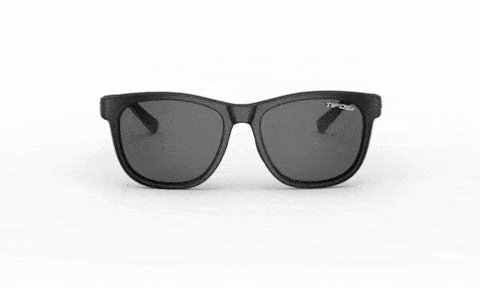 Swank, Satin Black Single Lens Sunglasses
