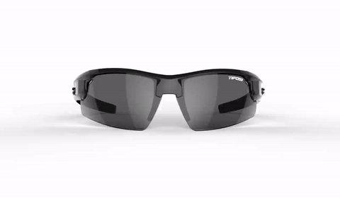Synapse, Gloss Black Polarized Sunglasses