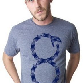 APPAREL T-SHIRT CWG SNAKE CHAIN MEN SMH-GREY