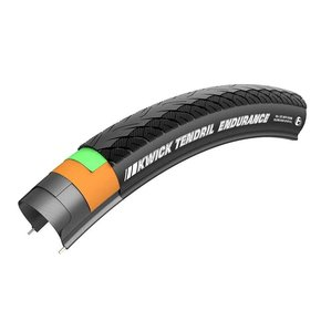TIRES FOLD 700x28 Kenda Kwick Tendril Endurance Clincher SRC 60TPI Black