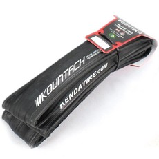 Kenda TIRES FOLD 700x25 Kenda Kountach Clincher R2C Iron Cloak Belt 120TPI Black