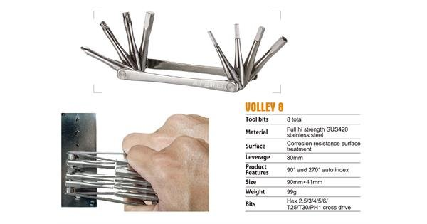 TOOLS Volley 8 Multi Tool NLS