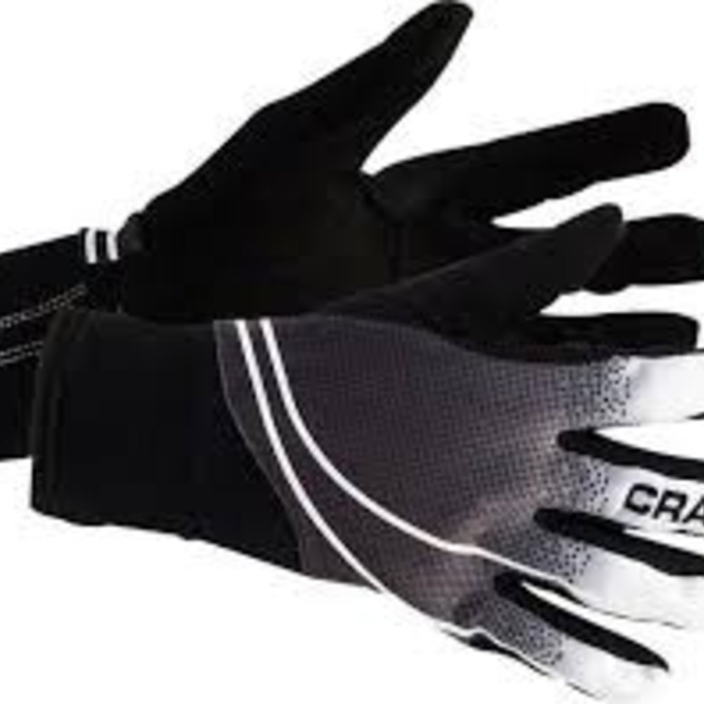 GLOVES FULL FINGER Craft Intensity Black/White LG