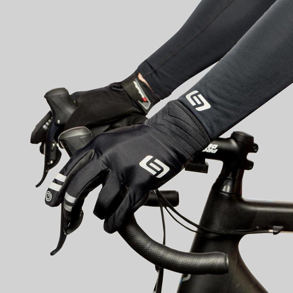 GLOVES FULL FINGER Bellwether Velocity Black LG