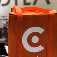 THERMAL BAGS CAVIAR Tote Bag Orange