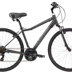 Cannondale BIKES 2018 CANNONDALE 700 M Adventure 3 Nearly Black Large