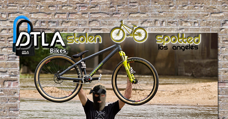 HAS YOUR BIKE BEEN STOLEN?