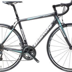 Bianchi BIKES 2016 BIANCHI Intrepida Tiagra Black/Celeste 48CM