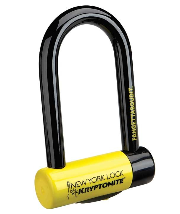LOCKS U-LOCK KRYPTONITE New York Fahgettaboudit Mini