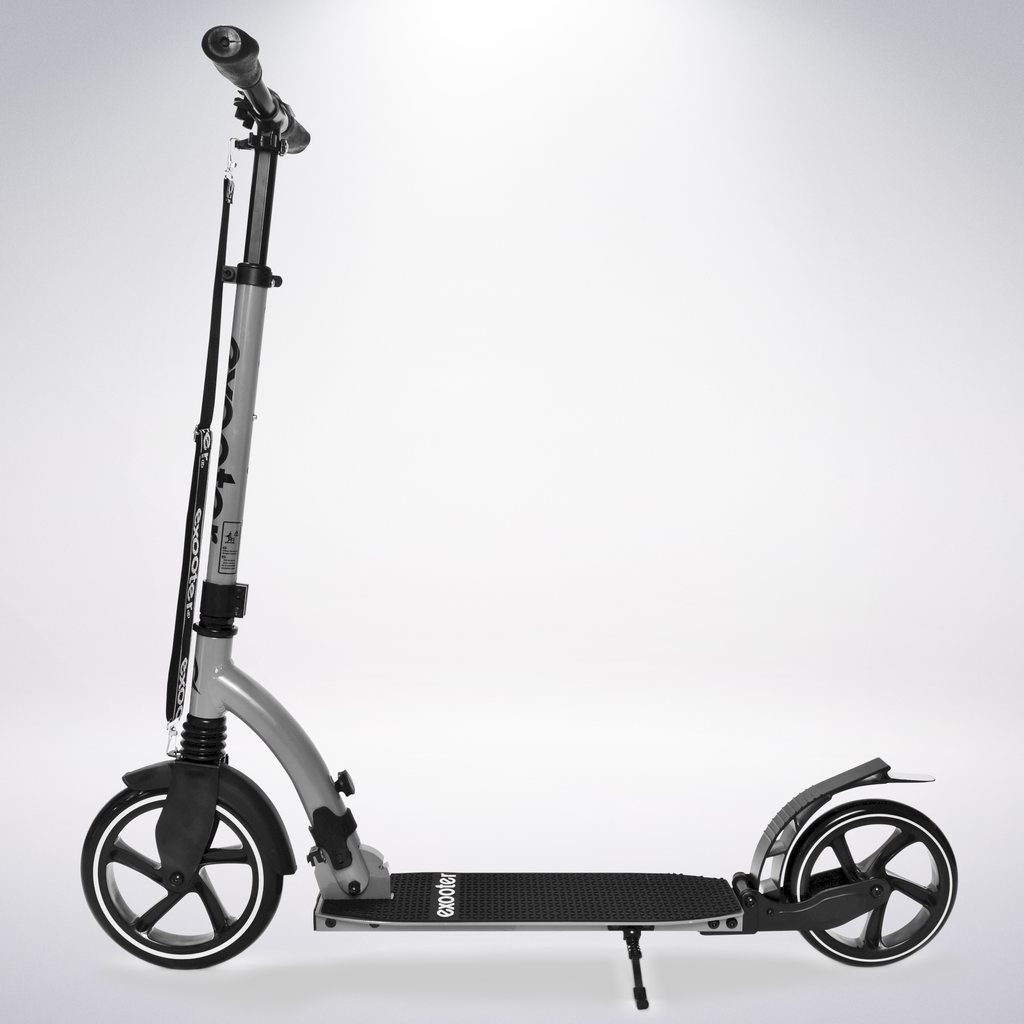 Exooter Copy of KICK SCOOTER EXOOTER M6 Adult w/ Dual Suspension Shocks, Big Wheels, Black