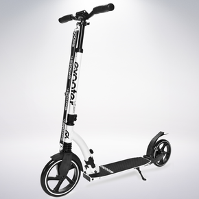 Exooter Copy of KICK SCOOTER EXOOTER M6 Adult w/ Dual Suspension Shocks, Big Wheels, Gray