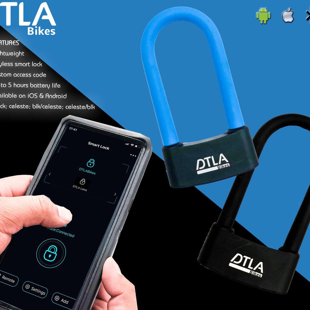 DTLA ♥ DTLA Bikes Bluetooth Keyless Smart Lock Black