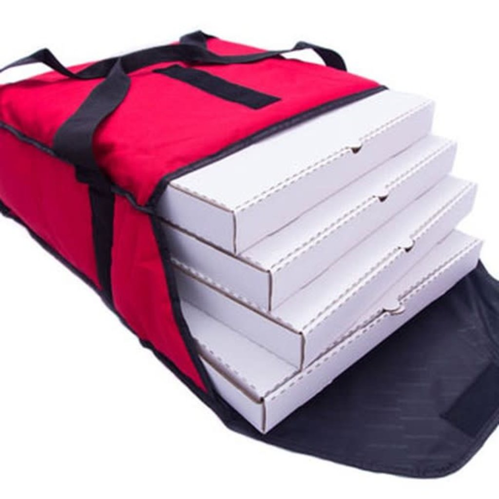 CAVIAR Thermal Delivery Bags Caviar - Pizza Bag RED
