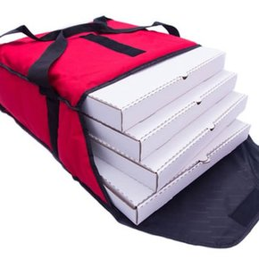CAVIAR PIZZA DELIVERY BAG