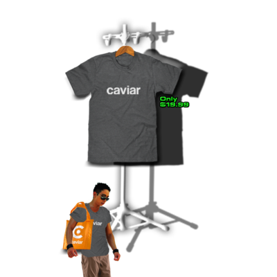 CAVIAR DELIVERY TEE
