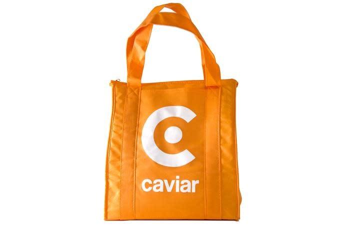 CAVIAR Bolso de naranja caviar