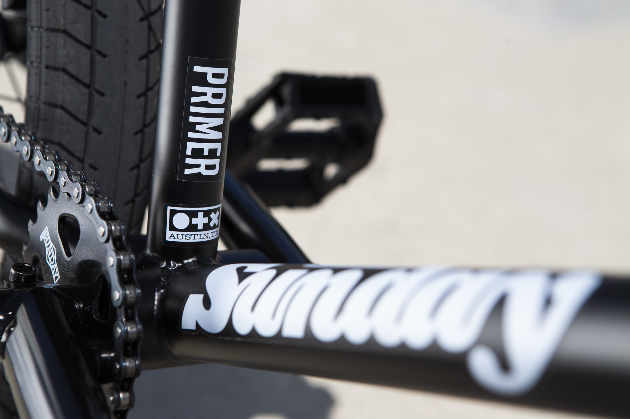 BIKES SUNDAY PRIMER BMX  MATTE BLACK