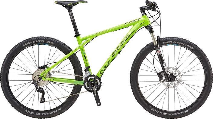 GT BIKES 2016 GT 27.5 M Zaskar Comp Green Medium