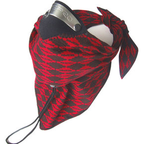 MASK Respro Bandit Scarf Diamond Red