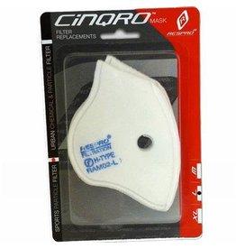 MASK Respro Cinqro Sport FILTER Pack of 2 Medium