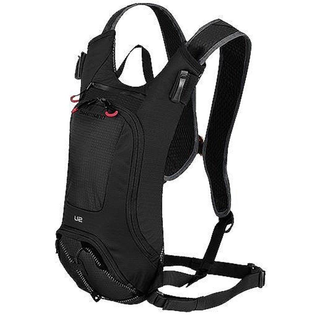 Shimano BAGS BACKPACK SHIMANO UNZEN 10 W/HYDRATION BLACK