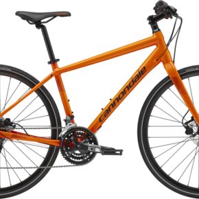 Cannondale BIKES 2019 CANNONDALE Quick 4 HAZARD ORANGE MEDIUM