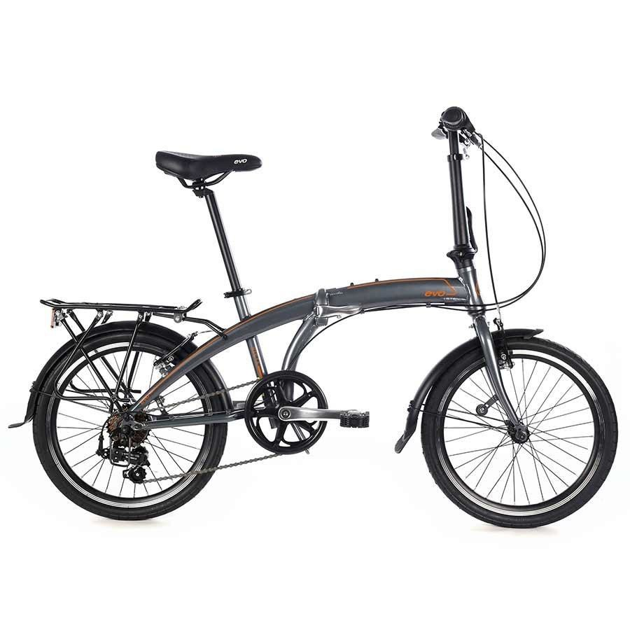 Evo BICICLETAS EVO Plegable Vista City Chelsea Grey OS