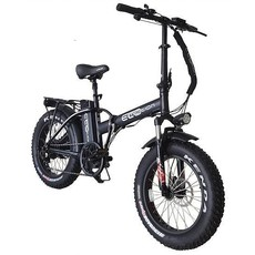 "ELECTRIC BIKE ECO MOTION E-Fat Mini Pro 20"" Black"