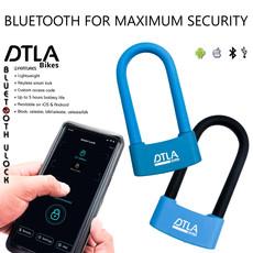 DTLA ♥ DTLA Bikes Bluetooth Keyless Smart Lock Blue
