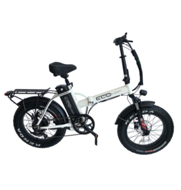 "ELECTRIC BIKE ECO MOTION E-Fat Mini Pro 20"" White"