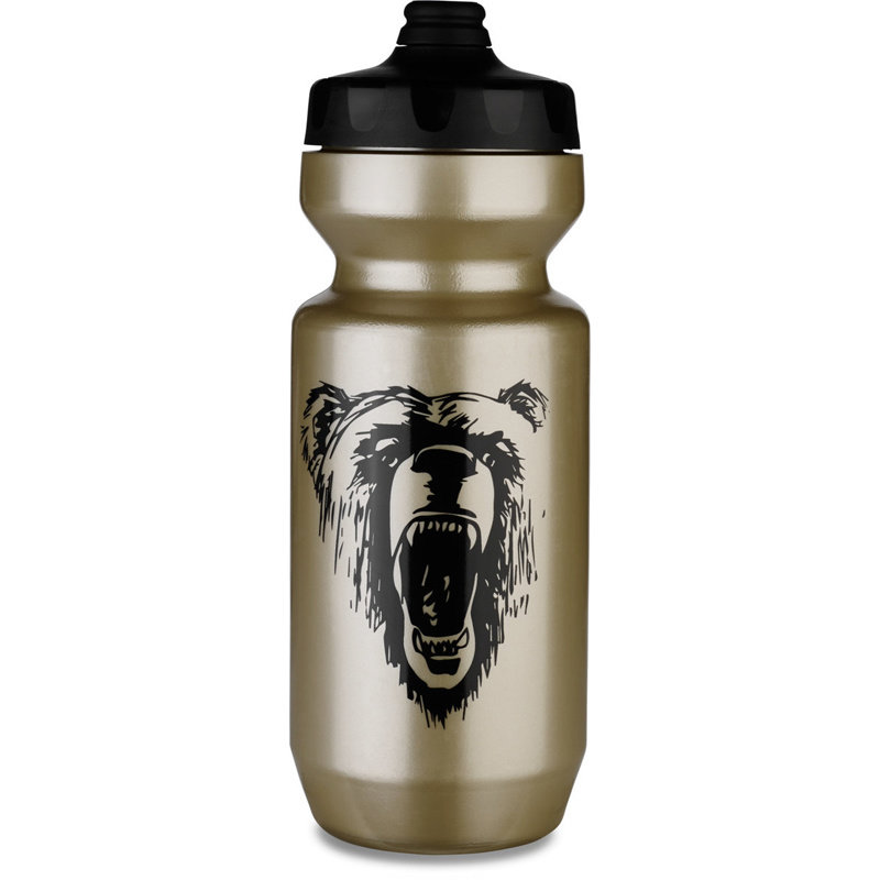 Specialized BOTTLE SPECIALIZED PURIST FIXY BTL GLD/BLK CALIFORNIA BEAR 22 OZ
