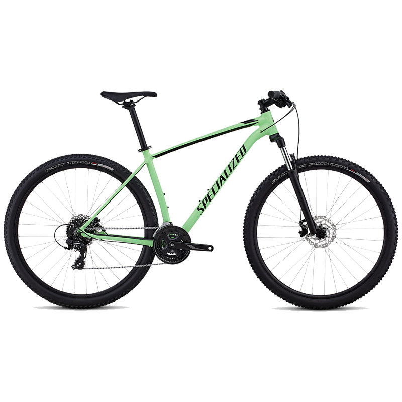 Specialized BIKES 2020 SPECIALIZED ROCKHOPPER MEN 29 ACDKIWI/BLK/WHT/CHAR MEDIUM