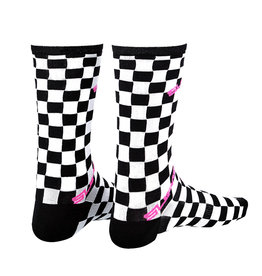 APPAREL SOCKS SUPASOX RAD- CHECKERZ