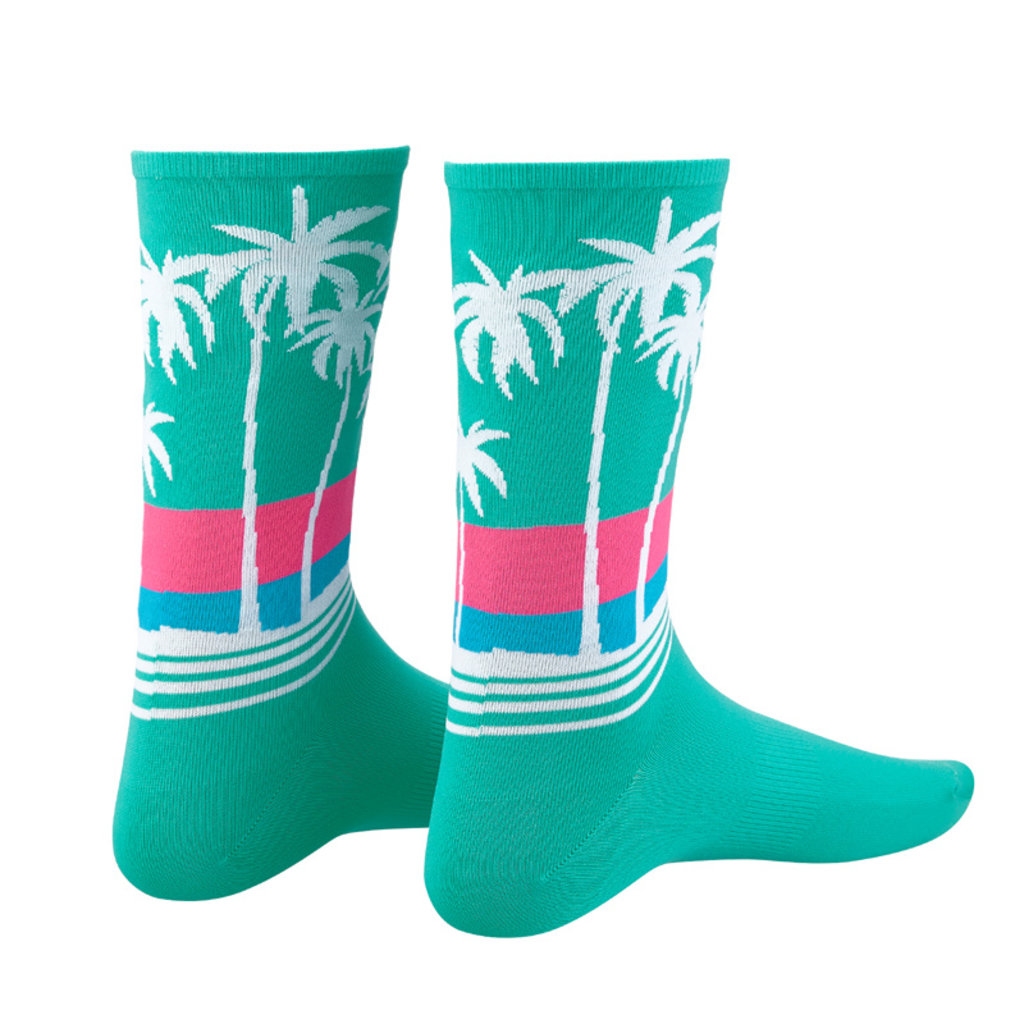 APPAREL SOCKS SUPASOX RAD- CALI SUNSET