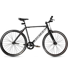 BIKES FORTIFIED Invincible 8 Speed MEDIUM BLACK