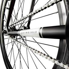 BIKES FORTIFIED Invincible 8 Speed MEDIUM BLACK