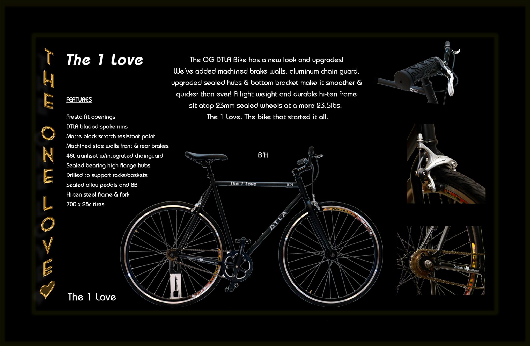 DTLA's number 1 selling single speed bike