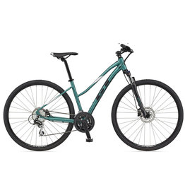 GT BIKE 2021 GT 700 M Transeo Elite - Jade Large