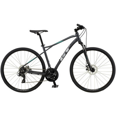 GT BIKES 2021 GT 700 M Transeo Comp GRY XS Extra Small Grey
